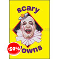 Scary Clowns Hc Book