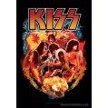 Kiss Poster Textile
