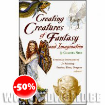 Creating Creatures Of Fantasy And Imagination Hc Book