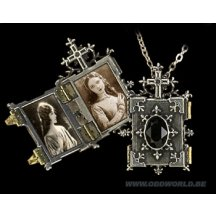 Orthodox Icon Locket Halsketting