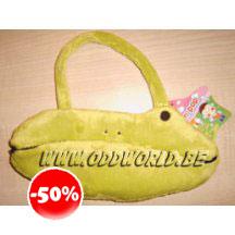 Tum Tum Yum Pop Frog Cute Small Hand Bag Wallet Plush
