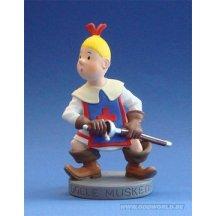 Bob Et Bobette De Dolle Musketiers Wiske  Statue