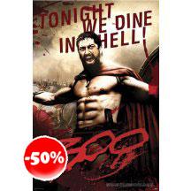 300 Leonidas Poster