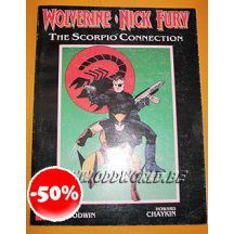 Wolverine Nick Fury The Scorpio Connection Tp