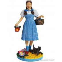Wizard Of Oz Dorothy En Haar Hond Toto Klaprozen Beeld