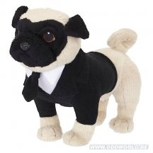 Men In Black Frank The Pug Talking Dog Plush