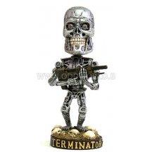 Terminator 2 Endoskeleton Head Knocker Statue