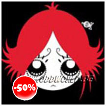 Ruby Gloom Coin Purse Goth Gothic