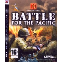 History channel-battle for the pacific PS3 Game