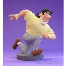 Bob Et Bobette Jerom Running Statue