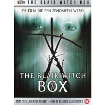Blair witch project box DVD