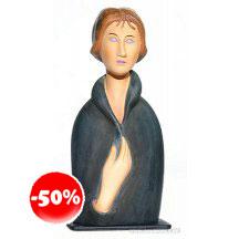Modigliani Blue Eyed Woman 1917  Statue