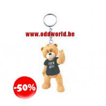 Vic Bad Taste Bears Keychain Uncensored