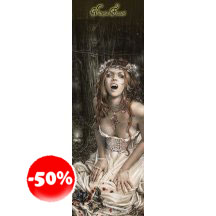 Victoria Frances Vampire Girl Door Poster