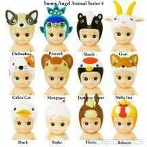 Sonny Angels Animal Serie 4 Dieren Geluksbrengertje